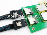 Добавочная карта для ПК DESING OEM 2 /2 sff/8087 8088 PCI /SAS 26P SAS RAID 2 PORT 8088 TO 8087