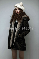 Женская одежда из меха Upgraded Version 2012 Winter New Fashion Faux Fur Coat Women Clothing/Apparel Jacket Ultra Long Outerwear