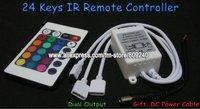 RGB контролер Hengxiang 24 RGB SMD 3528, 5050 + 24keys