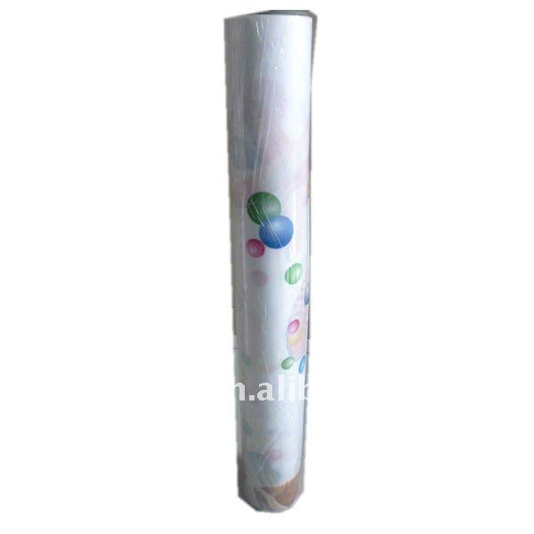 PVC plastic film for table