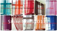 2012 europe gauze curtain, 16 kind of color to choose, curtains for living room, window string curtain