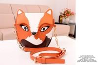 Free shipping !! 1pcs / Lot  2013 Hot Sale Fashion Owl Bag PU Leather Women Handbags Cross Body Bag Messenger Bag Shoulder Bag