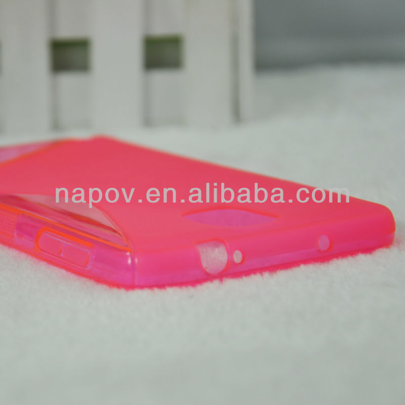 S shape cell phone cover for samsung galaxy note 3 N9005 N900A N900 N9002