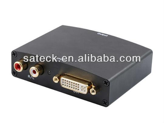 DVI+R/L to HDMI converter
