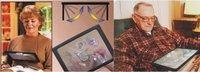 Гигантские руки бесплатно лупа 3 x увеличительное стекло для чтения швейные, вязальные помощи [010221