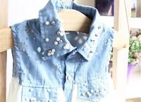 Блузка для девочек 5 pcs/lot Fashion Children Kids Clothes Summer Girls Blouse Sleeveless Selling AA5738
