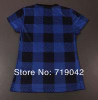 Женская футболка для футбола-Thailand Best Quality Women's Football Jersey, T-shirts, Women's Soccer Rooney / Van Persie Jersey! Size XS-L