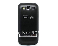 Чехол для для мобильных телефонов For samsung galaxy s3 external battery power charger case cover with usb&stand