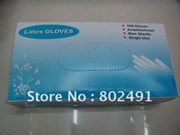 """Low supply disposable gloves latex----9""""+Free shipping"""