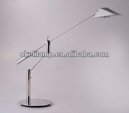 modern silver fancy table light with stainless steel, 4W stainless fancy table light