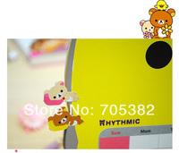 Офисные и Школьные принадлежности New cute 2 pcs/set animal sticker, Paper index note label sticker