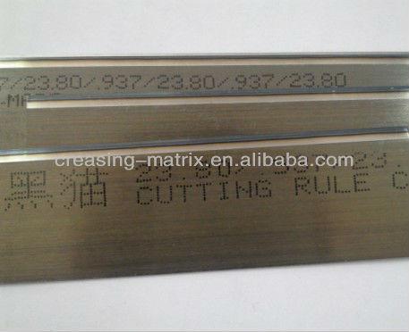 steel rule