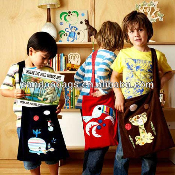 Magic Circus Library Cotton Student bag