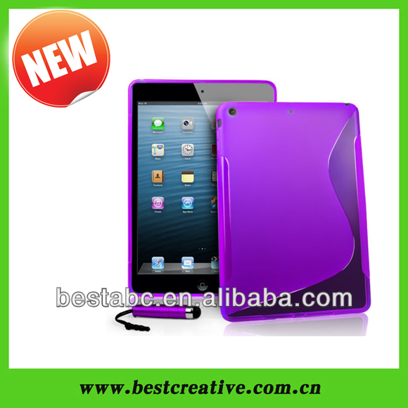 Silicone cover for ipad 5, for apple ipad air cases