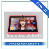 Планшетный ПК cheap MID 7 inch apad capacitive touch screen tablet pc wifi camera webcam allwinner a13 sample