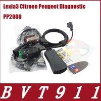 Оборудование для диагностики авто и мото Top selling 2012 al Lexia 3 Citroen Peugeot Diagnostic PP2000 tool V48 with 30pin cable