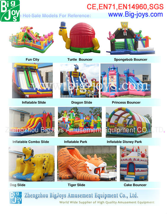 2013 Hot-Sale Of Inflatable Fire Truck Inflatable Jumper With CE Certitifate