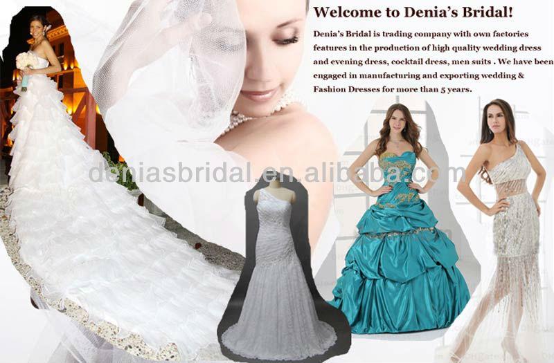 2014 Vintage amor moldeado Appliqued rebordeado tafetán vestidos ...