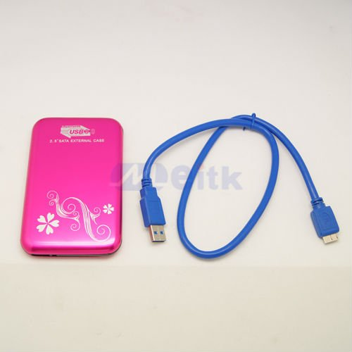 "Super Speed USB3.0 2.5""mini Disk 2.5""Sata External Case"