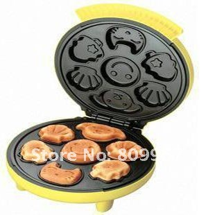 NEW!! mother help baby cruis cake baker  Not-stick muffin pan machines cartoon cake maker oven free shipping