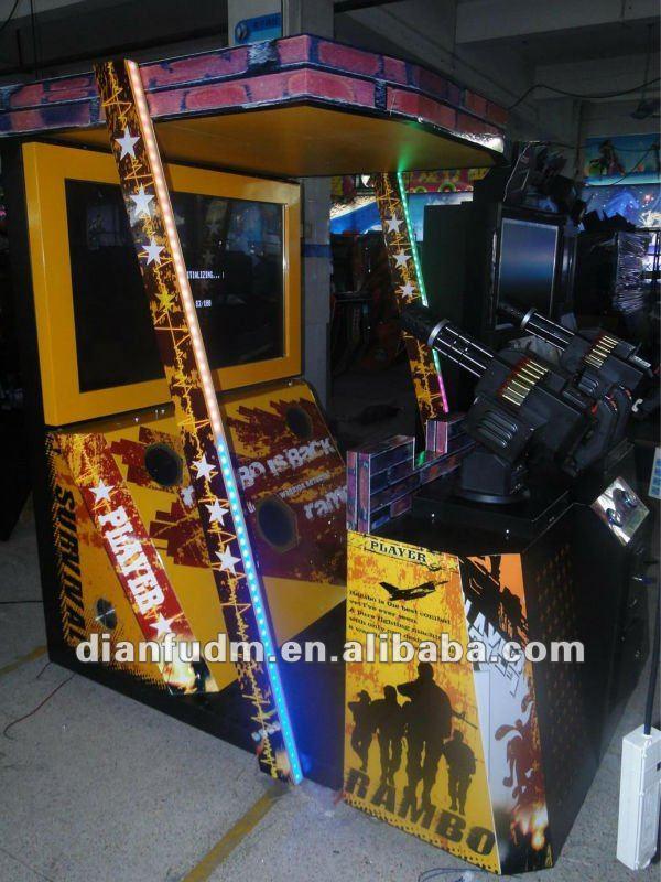 amusement simulator shooting game machines-Rambo