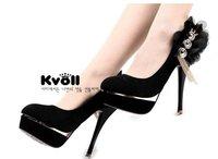 Туфли на высоком каблуке shoes KVOLL 2012 NEW high heel dress high heels lady platform sexy pumps D58111 size 34-39