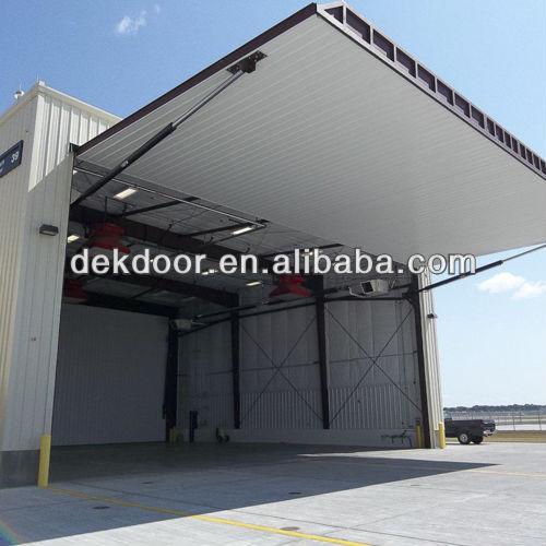 Avion de hangar salut porte pliante portes id de produit for Porte hangar