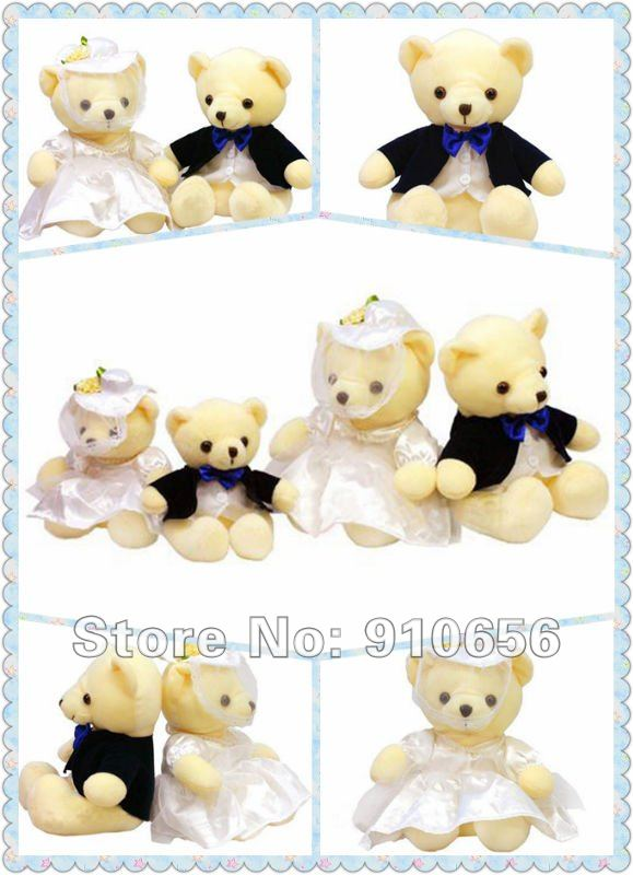 Wedding Couple Bears toys