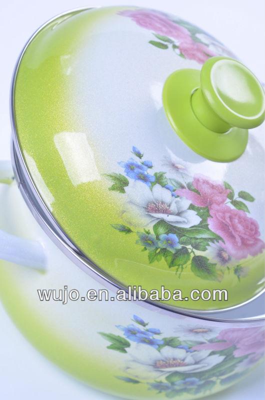 Fading Color Enamelware & Enamel Pot& Enamel Cookware