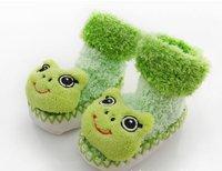 Роман дизайн детские носки дома обувь Детская обувь мультфильм 12pairs/много милая кукла 6 моделей смешанного