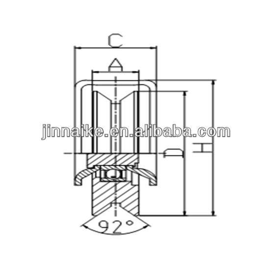 Sliding Gate Wheel - Buy Sliding Gate Roller,Steel Gate ...