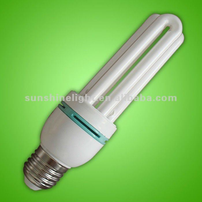 RoHS CE SGS 9MM 9W 3U ENERGY SAVING LIGHT BULBS
