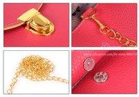 Клатч 2012 HOT ladies' PU bag, fashion handbag, clutch bag, Inclined shoulder bag, Dlutch, promation for christmas! Q016
