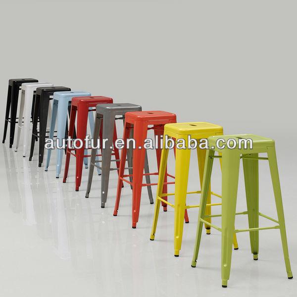 Tabouret 30 inch black metal bar stools manufacturer from - Tabouret de bar metal ...