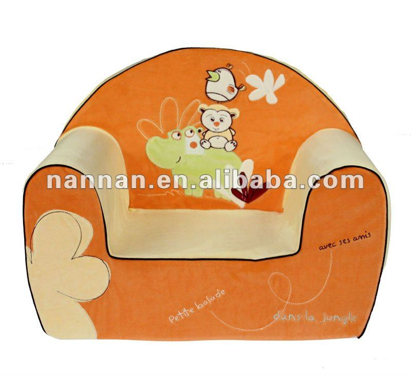 удобные бархатные вышитые ребенка диван кресло, дети диван, детский стульчик