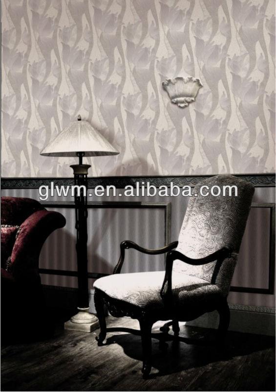 specail design bamboo fiber material wallpaper