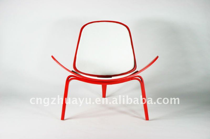 Replica Hans Wegner Shell Chair - Cowhide HY-D009