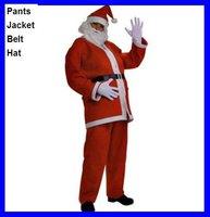 Мужской эротический костюм Big Discount Mes's Male Adult Cheap Christmas Xmas Santa Claus Costumes Cosplay Uniform Suit 6pcs/set