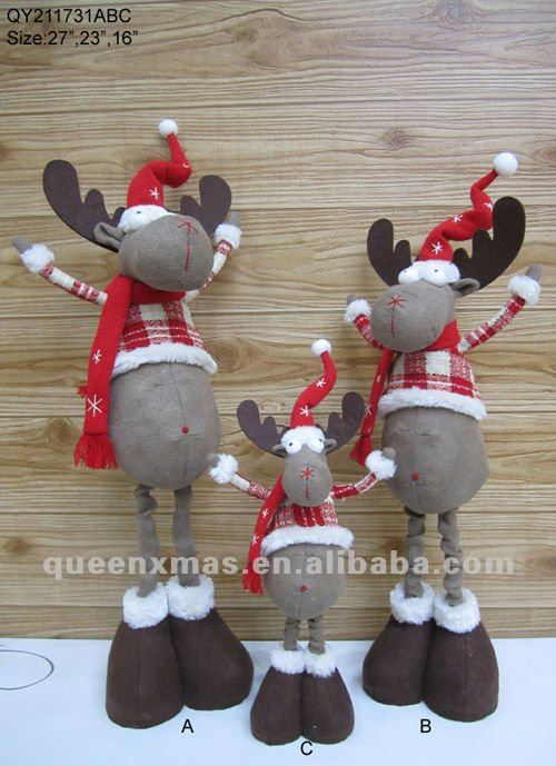 christmas moose home decor - Rainforest Islands Ferry