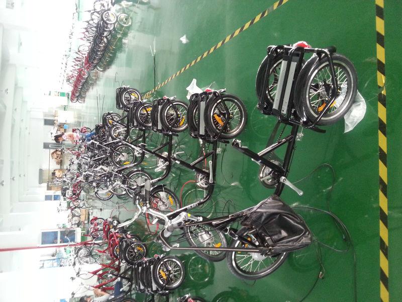 taotao three wheel electric aluminium cargo tricycle