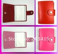 Визитница retail new creative fashion leather bank credit Card team holder bag case membership card bag 24