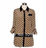 Женские блузки и Рубашки Myl SleeveBlouse , ladies'Chiffon, CS 026