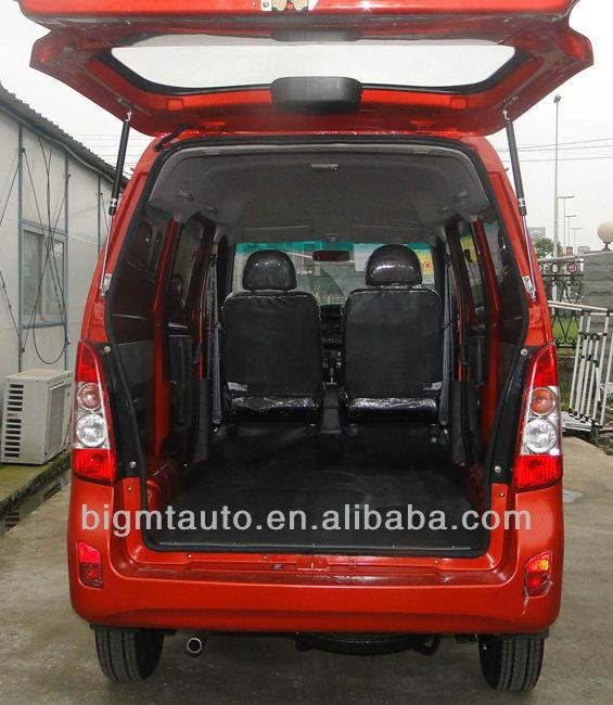 Euro IV Standard 8 Seats Gasoline Passenger mini+van+hafe