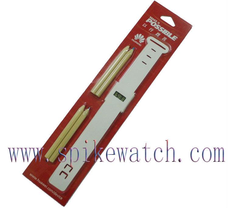 Cheap DIY digital paper wrist watch for promotion