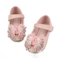 Кроссовки для девочек New autumn summer children shoes girls sneaker girls oxford shoes soft bottom lace rhinestones E861 Искусственная кожа