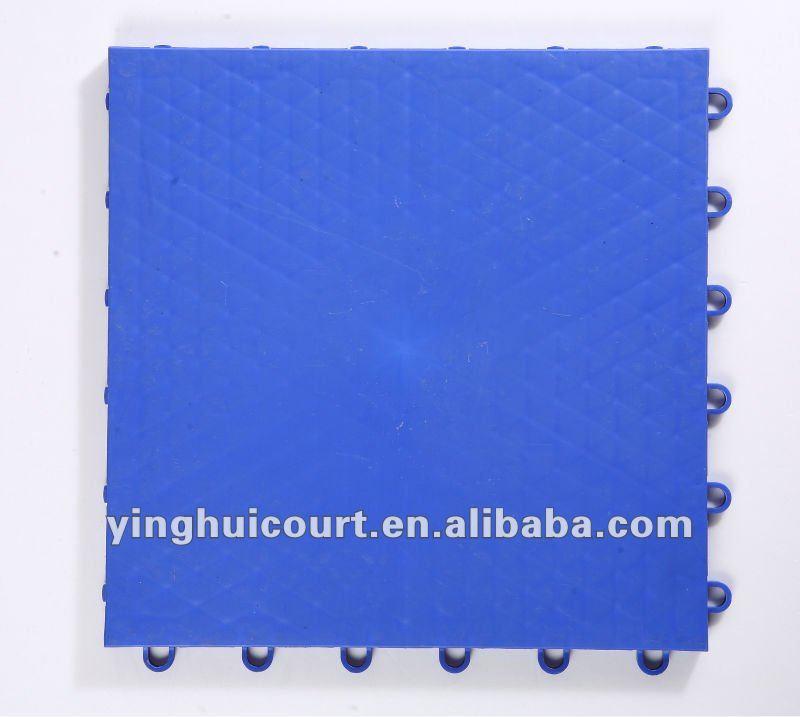 I-01 Heavy Weight Modular PP(Polypropylene) Indoor Basketball Flooring