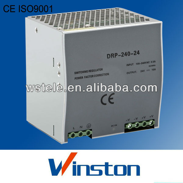 CE ROHS Din rail DR-120-12 10Amp 12vdc 120w power supply with 2 years warranty