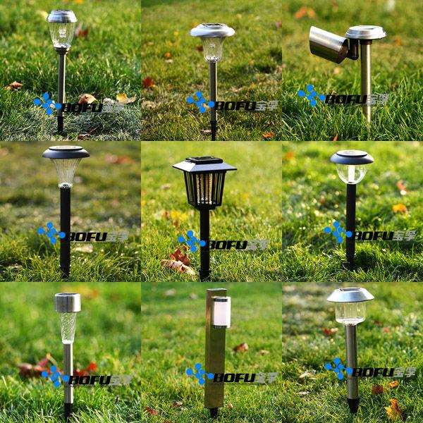 iluminacao solar para jardim funcionaopcional de aço inoxidável luz