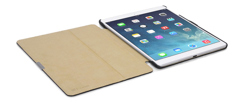 popular perfect hand touch microfiber case for Ipad Mini2
