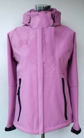 The authentic outdoor single ladies soft shell spring essential wind-proof warm